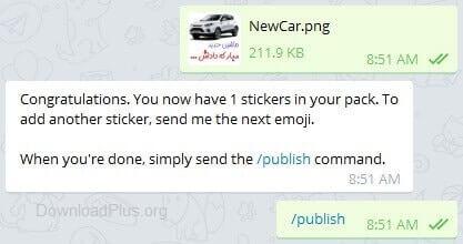 1445665603 publish آموزش ساخت استیکر برای تلگرام همراه با تصویر