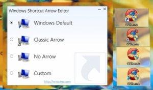 0004 Windows Shortcut Arrow Editor Screenshot 1 300x177 دانلود Windows Shortcut Arrow Editor 1.0.0.2 حذف علامت فلش از روی آیکون های دسکتاپ + آموزش