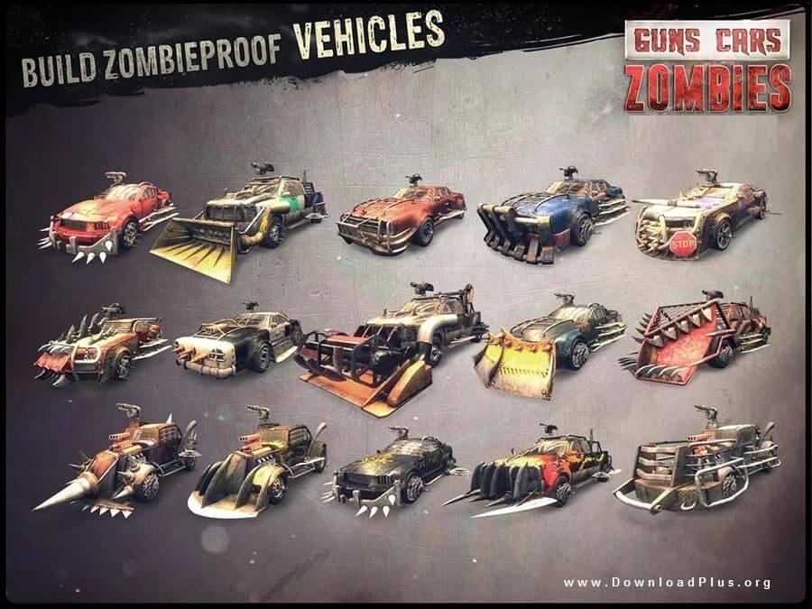 Guns Cars Zombies 6 دانلود بازی Guns, Cars, Zombies v1.2.1.4 بازی جذاب اکشن اندروید+دیتا