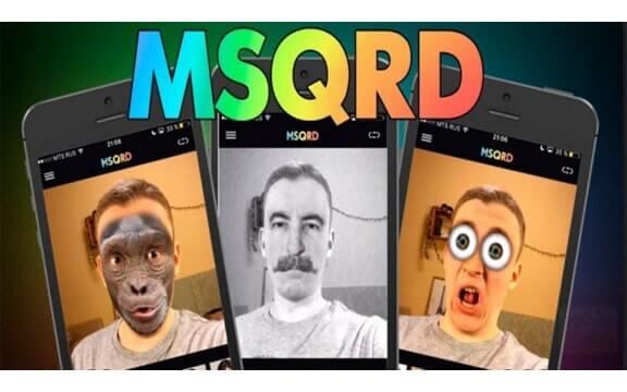 MSQRD Cover www.download.ir  دانلود MSQRD v1.8.3 نرم افزار ام اس کیو آر دی برای اندروید و آیفون