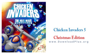 دانلود پلاسChicken Invaders 5 بازی مرغ های مهاجم 300x188 دانلود بازی مرغ های مهاجم Chicken Invaders 5 برای کامپیوتر
