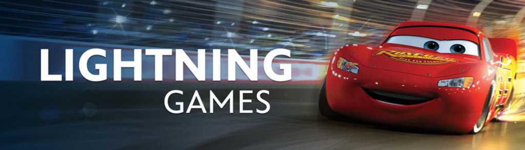 """Cars Lightning League Cover 1024x294 دانلود Cars : Lightning League 1.04 بازی """"ماشین سواری آذرخش"""" اندروید"""
