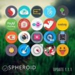 Spheroid Icon 4 150x150 Spheroid Icon v1.7.1 دانلود پکیج آیکون های زیبا و کروی برای اندروید
