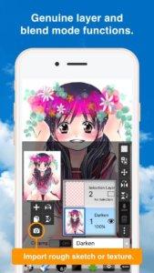 ibis paint x sketchbook anime manga 501118 full 169x300 دانلود ibis Paint X v5.1.2 برنامه نقاشی آیبیس برای اندروید