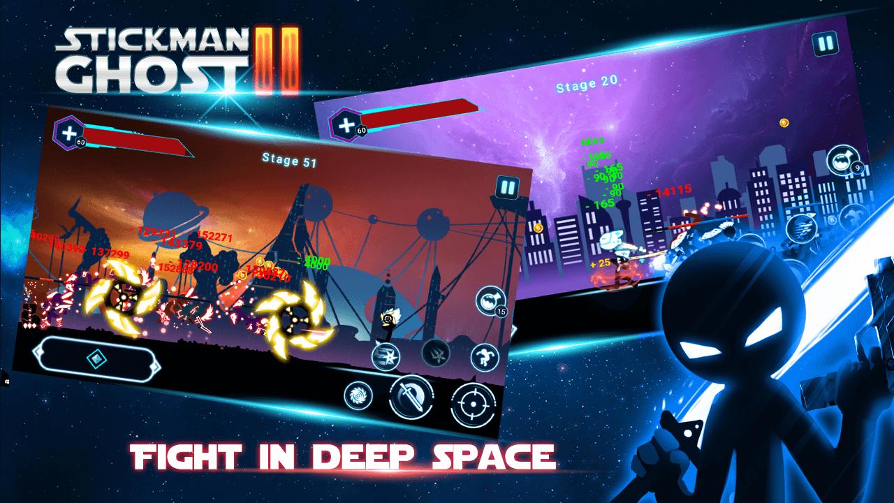 unnamed 3 دانلود Stickman Ghost 2: Galaxy Wars v4.9 کهکشان جنگ: آدمک شبح شکل 2 اندروید