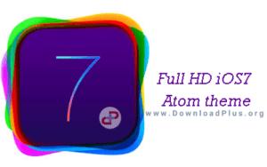 Full HD iOS7 Atom theme - تم آیفون ۷ - دانلود پلاس
