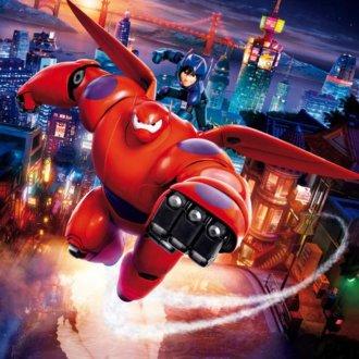 دانلود انیمیشن 6 ابرقهرمان Big Hero 6 2014 با دوبله فارسی